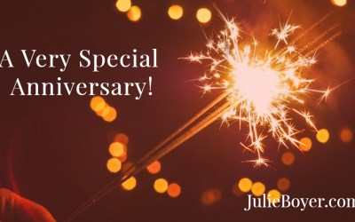Join Me as I Celebrate a Very Special Anniversary!