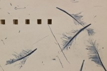 """' """"Hope"""" is the thing with feathers' - detail"""
