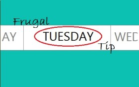 frugal tuesday tip banner