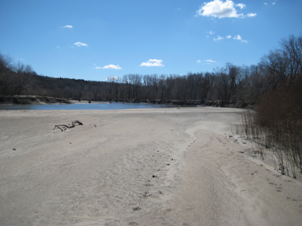 sandbar north raccoon river