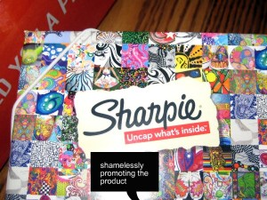 sharpie box