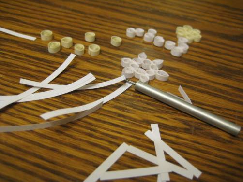 quilling christmas snowflake smelting juliecache