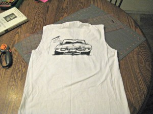 tank top t shirt upcycle makeover