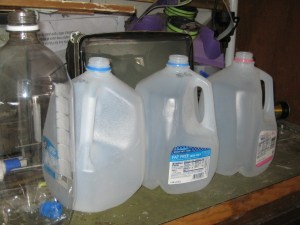 juliecache gathered milk jugs