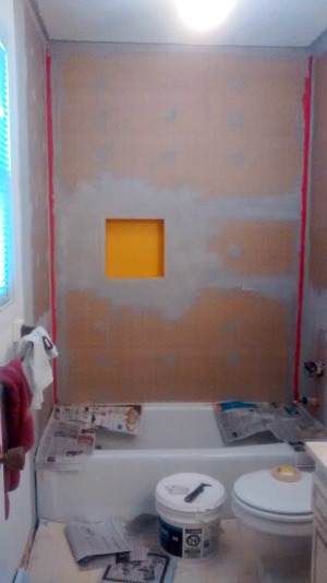 master bath ceiling joint small