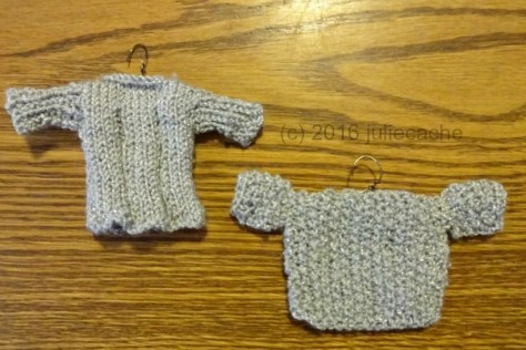tiny sweater, knitting, handmade