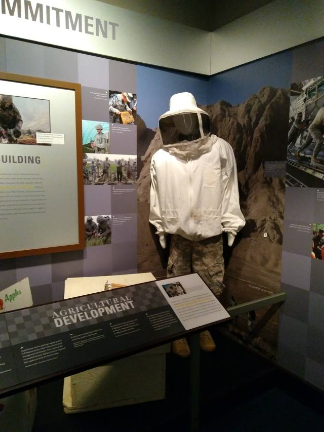 national guard, honey bee suit