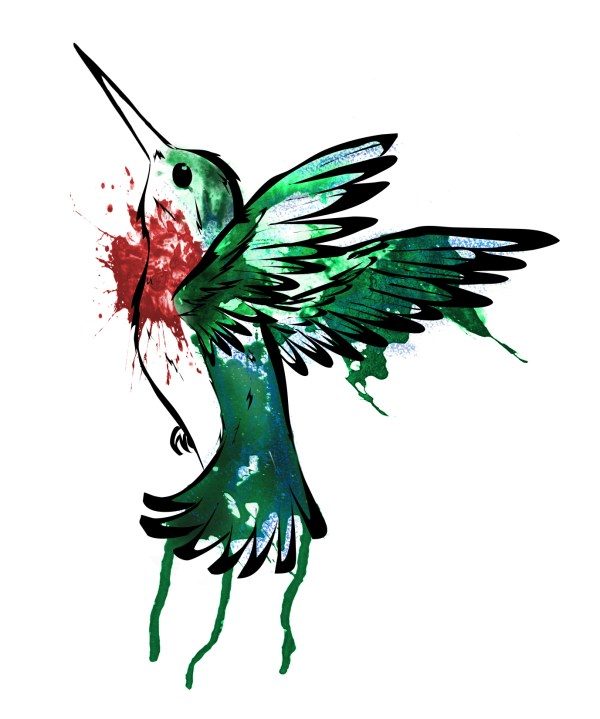Graphic Design Hummingbird