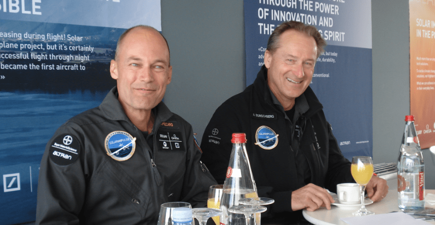 Solar Impulse avion solaire Bertrand Picard 2