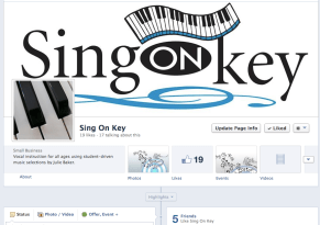 Sing On Key Facebook