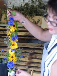 flower arranging workshops Kent