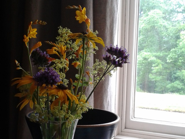 Vase of flowers National Trust