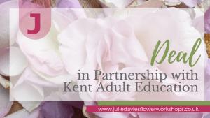 Floristry classes Kent Adult Education