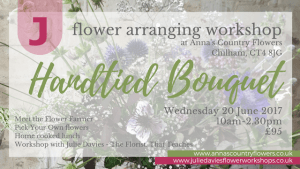 Handtied bouquet workshop