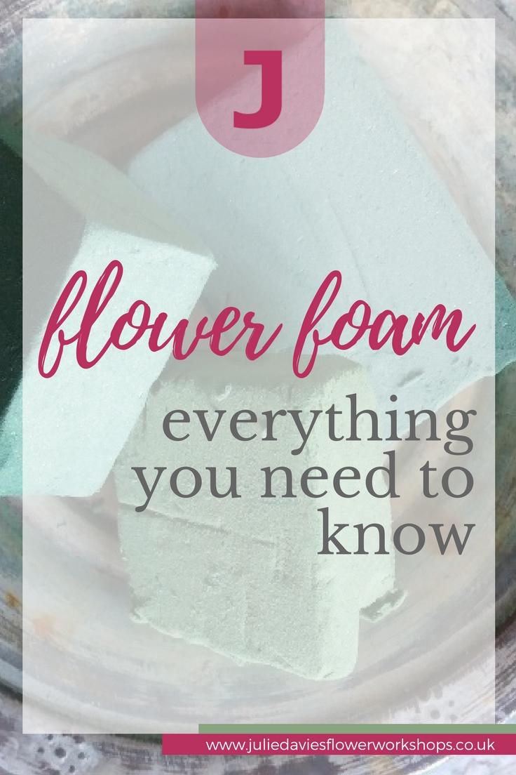 what is flower foam