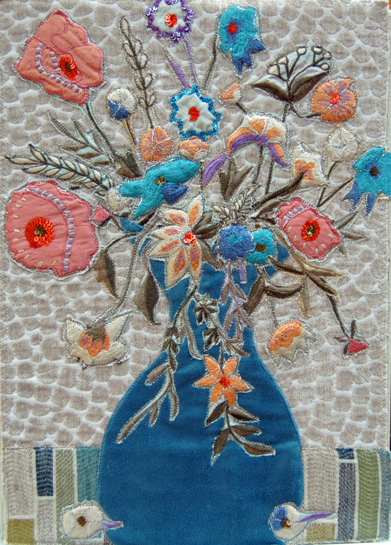 Textile Art Julie Mortillaro Dawn Design