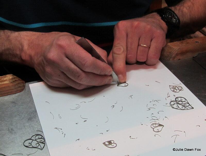 Making filigree jewellery