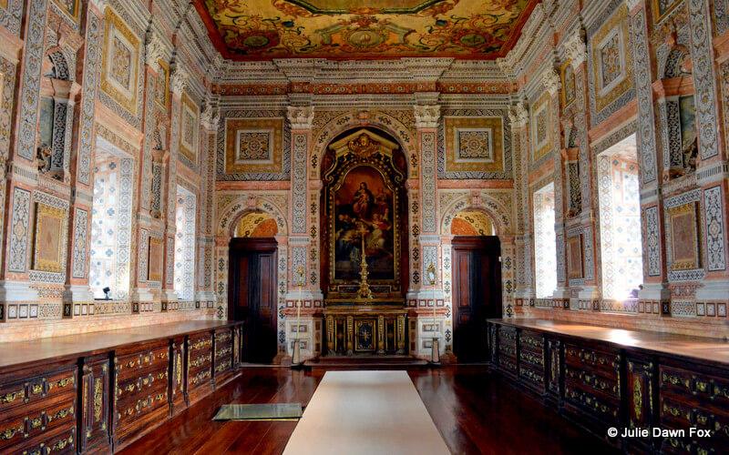 Sacristy, São Vicente da Fora monastery, Lisbon