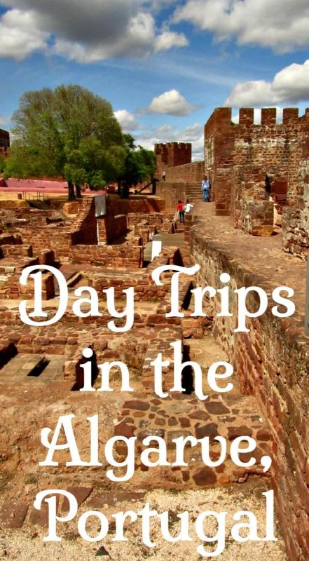 Day trips in the Algarve. Fishing and surfing towns, forests, thermal waters, traditional villages in the hills and more.