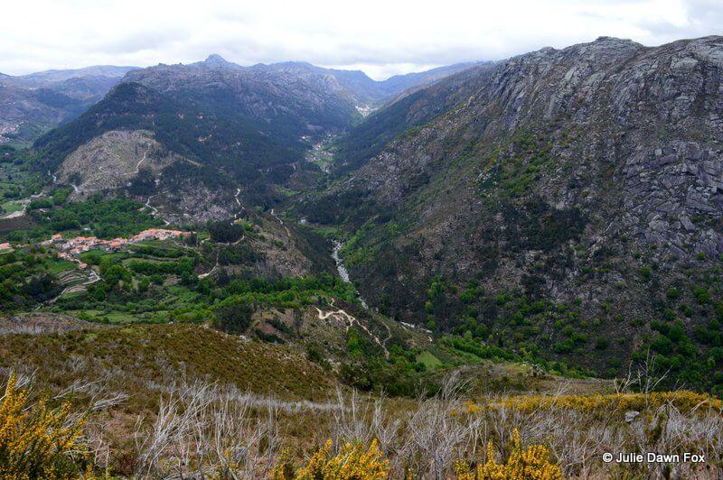View from Tibo of Peneda-Gerês National Park