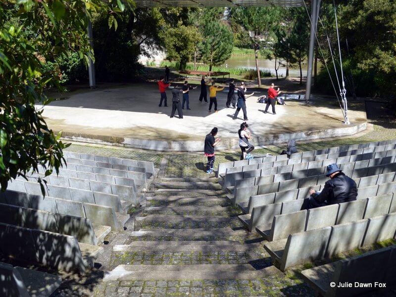 Multipurpose amphitheatre, Gulbenkian gardens