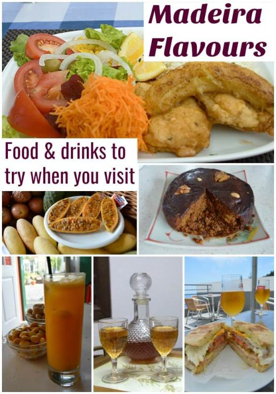 What to eat and drink in Madeira Portugal