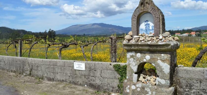 Wayside shrine to St. James