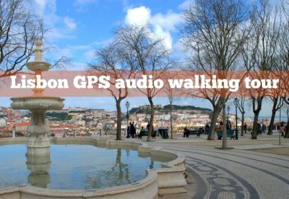 Lisbon GPS audio walking tour by Julie Dawn Fox in Portugal