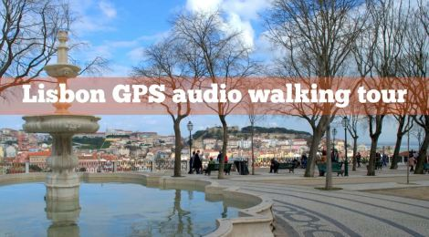 Lisbon GPS audio walking tour by Julie Dawn Fox in Portugal