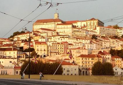 Coimbra at sunset. Things to do in Coimbra portugal