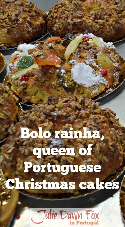 Bolo rainha, a Portuguese Christmas cake
