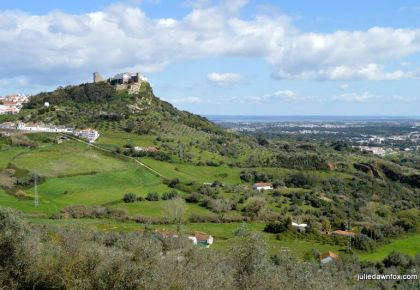 Palmela Castle and surrounding countryside. One of the best day trips from Lisbon Portugal