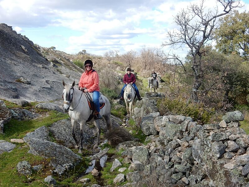 Horse riding near Marvão