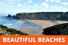 Beautiful beaches in Portugal