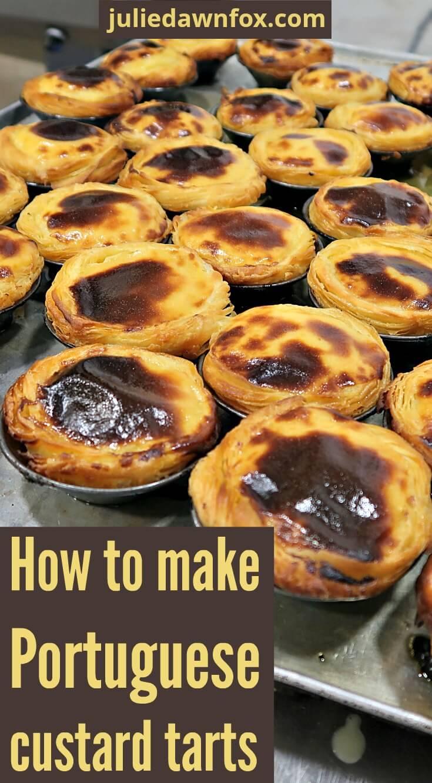 Pastel de nata workshop in Lisbon. How to make Portuguese custard tarts