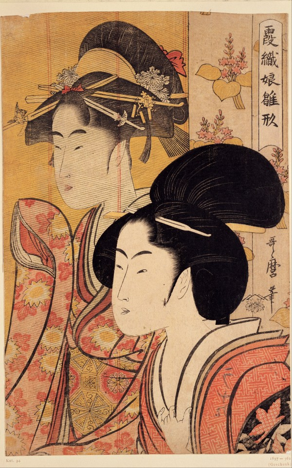 Japanese Women Art Painting