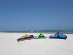 Kite on Diani Beach
