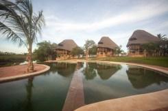 Exterior 3 Villas from Pool B