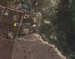 Google map of E50k plot for sale
