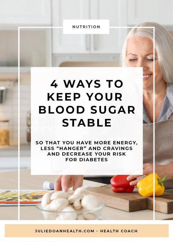 stable blood sugar prediabetes diabetes