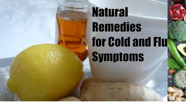 """8 """"Naturally Healthy Tips"""" To Help Prevent & Treat a Cold or Flu"""