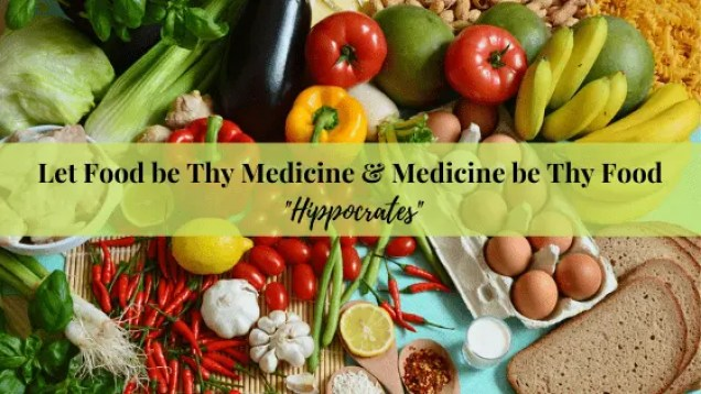 Fresh Wholesome Food will always support your body's return to Health. Better than anything else.