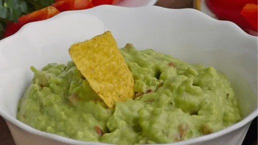 Easy to make Avocado Dip - Healthy heart, healthy skin and healthy brain