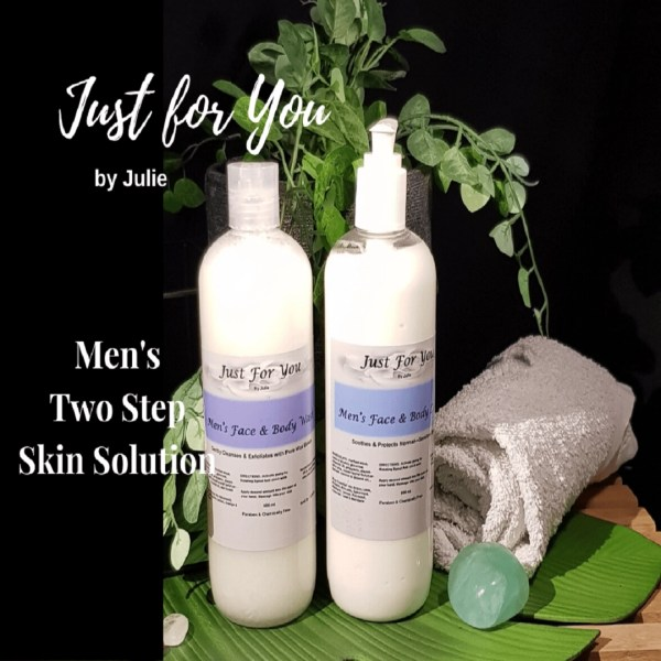 Men's Two Step Skin Solution