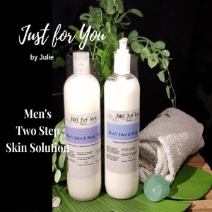 Men's Two Step Skin Care Set - Simple Effective Skin Care