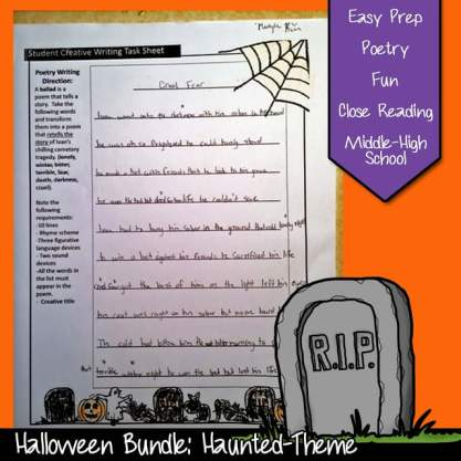 Cemetery Path Lesson Plan: Short Story