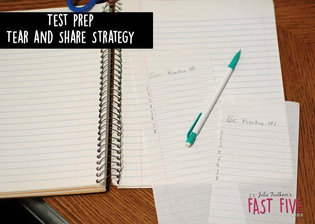 Best Test Prep Ideas and Strategies for Middle and High School