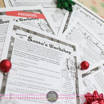 Top Christmas Holiday Lessons for Middle or High School Teens