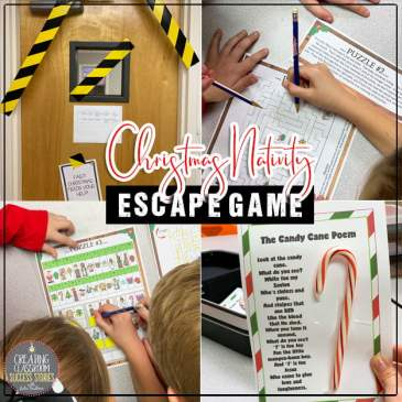 Classroom Escape Games, Preschool, Nativity