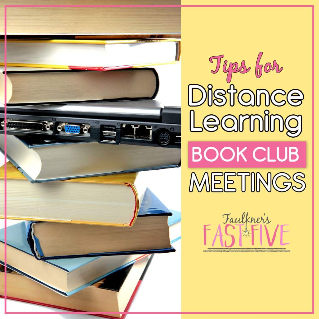 Distance Learning Book Club Meetings
